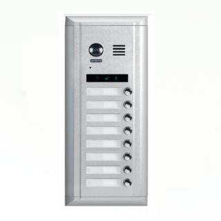 Interfon sa Fisheye kamerom u boji i 8 pozivnih tipki Elektro Vukojevic