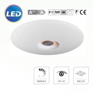 LED plafonjera 32W dimabilna sa daljinskim Elektro Vukojevic