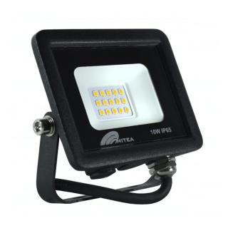 Eco LED reflektor 10W 6500K 850lm Crni Mitea Elektro Vukojevic