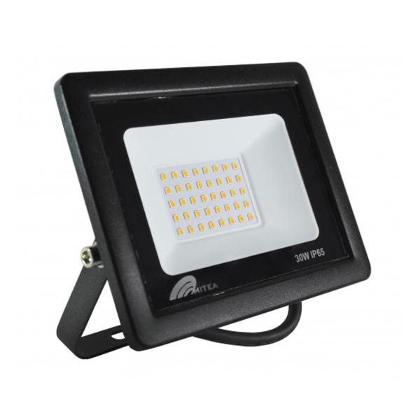 Eco LED reflektor 30W 6500K 2550lm Crni Mitea Elektro Vukojevic