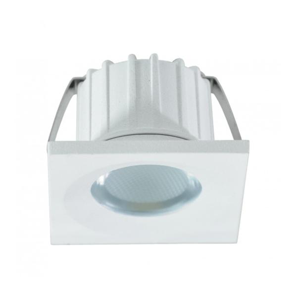 LED lampa svjetiljka ugradna 3W 6500K 35x35x25mm Mitea Elektro Vukojevic