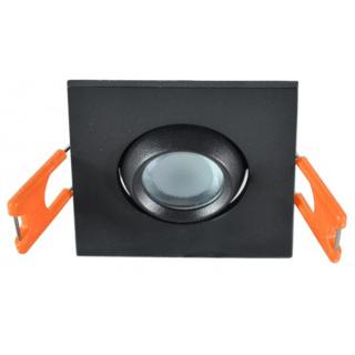 LED lampa ugradna 3W 6500K 55x55x30mm Crna Mitea Elektro Vukojevic