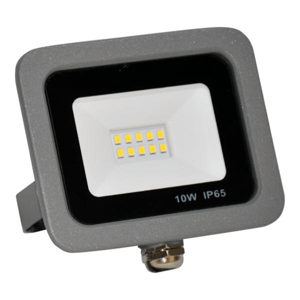 SMD LED reflektor 10W 6500K 800lm Sivi Mitea Elektro Vukojevic