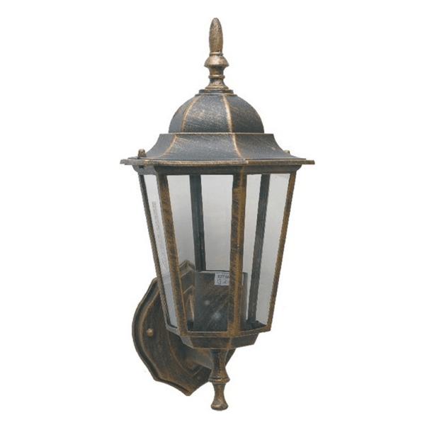 Bastenska lampa fenjer max.1x60W E27 Braon Mitea Elektro Vukojevic