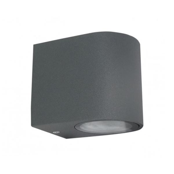 Baštenska lampa zidna 1xGU10 max.35W Antracit siva Mitea Elektro Vukojevic