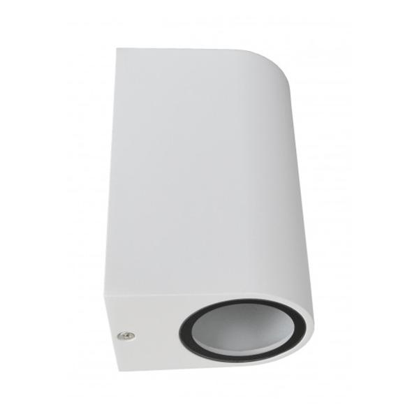 Baštenska lampa zidna 2xGU10 max.35W Bijela Mitea Elektro Vukojevic