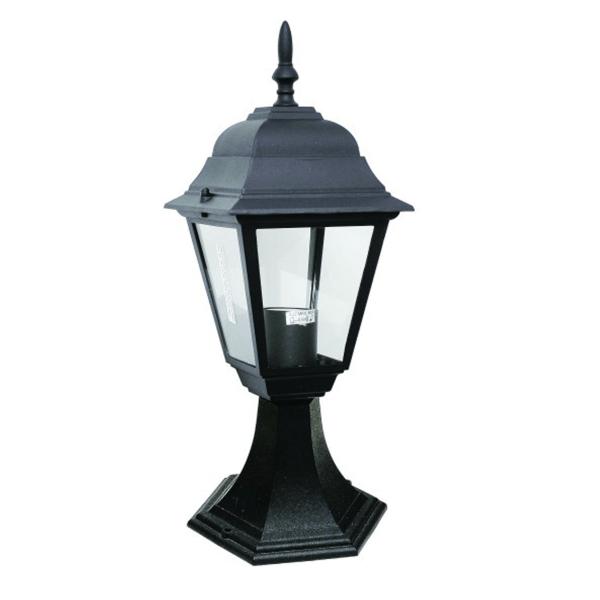 Bastenski fenjer lampa max.1x60W E27 IP44 Crna Mitea Elektro Vukojevic
