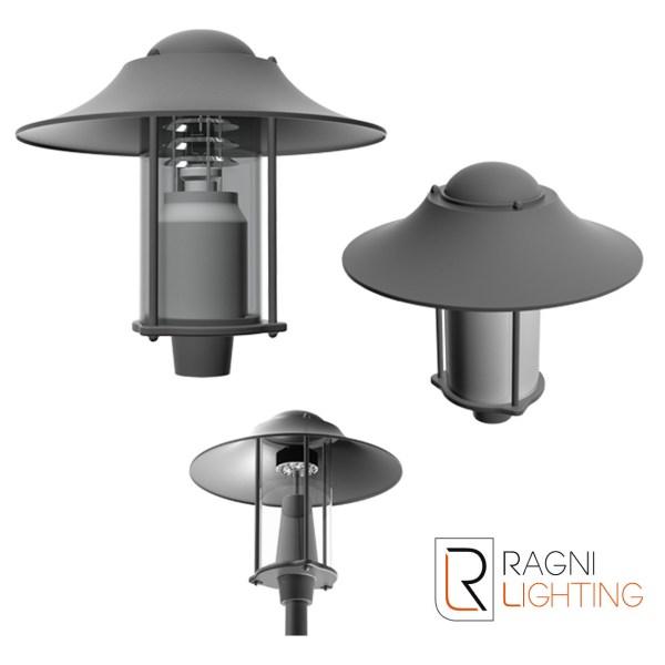 Stelia ulična svjetiljka Ragni lighting Elektro Vukojevic
