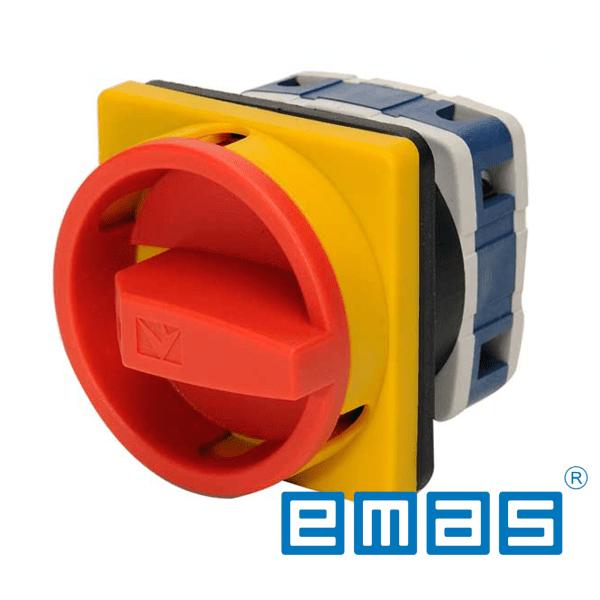 Grebenasti prekidač 0-1, 3-polni, 40A IP54 EMAS Elektro Vukojevic