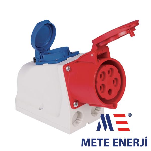Industrijska kombinovana uticnica IP44 Mete Enerji Elektro Vukojevic