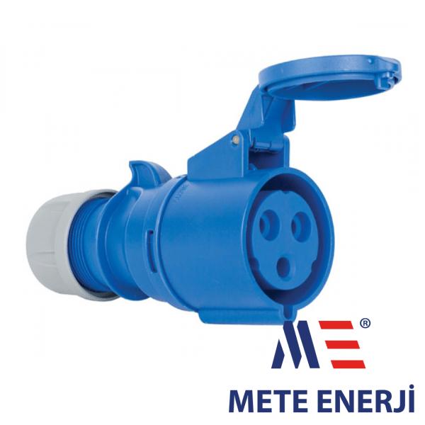 Industrijska uticnica 3-polna 16A,IP44,Mete Enerji Elektro Vukojevic