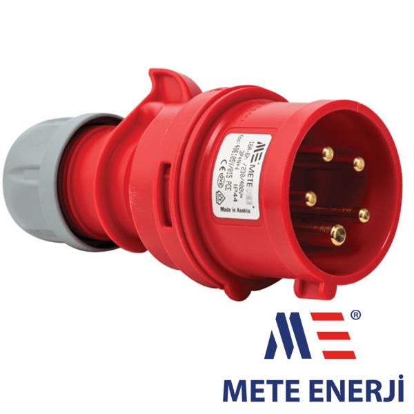Industrijski utikač 5x16A IP44 Mete Enerji Elektro Vukojevic