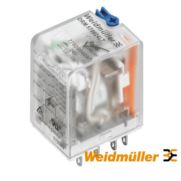 Rele 4CO, 24VDC, 5A Weidmuller Elektro Vukojevic