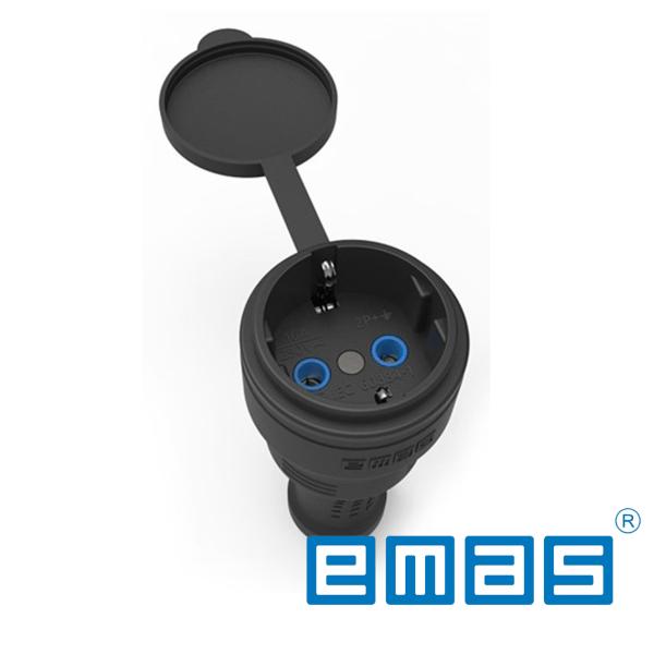 Razvodna gumena uticnica 1x16A EMAS Elektro Vukojevic