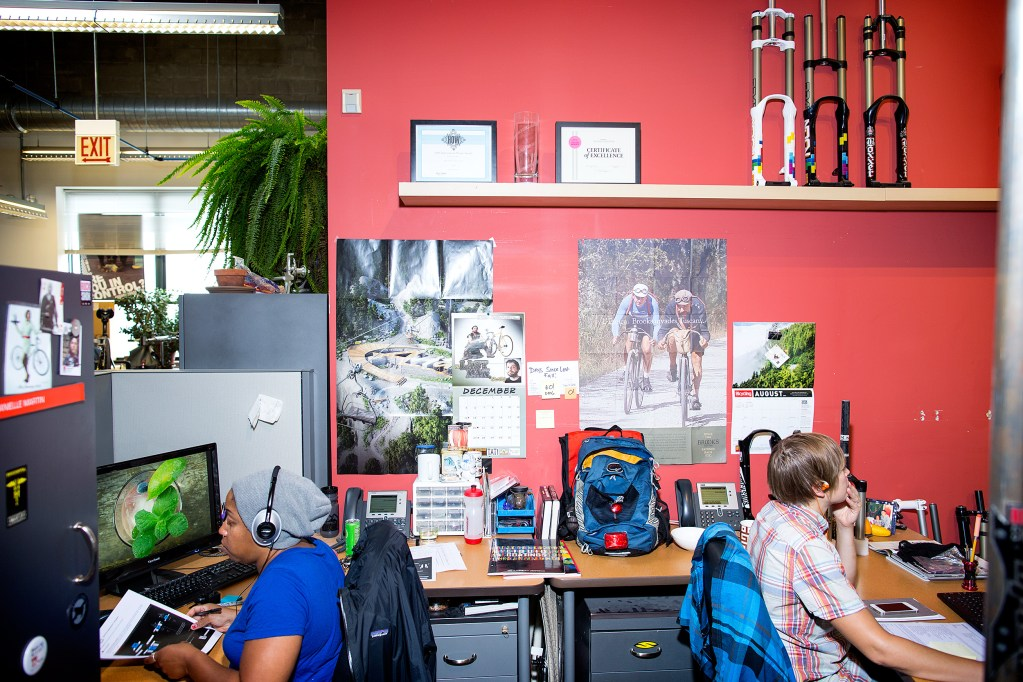 A visit to the SRAM World Headquarters in Chicago.
