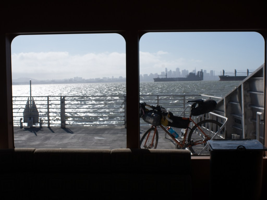 Getting to the start of an S24O by any means necessary. A ferry is one of the better means..