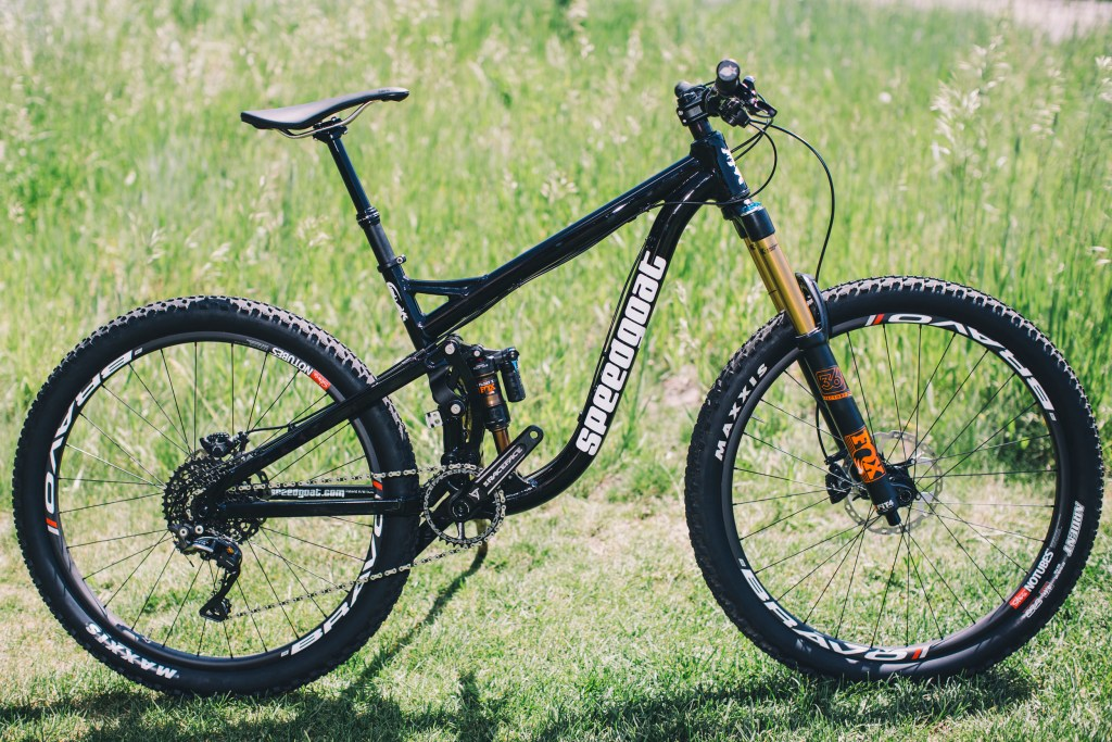 Speedgoat full suspension bike
