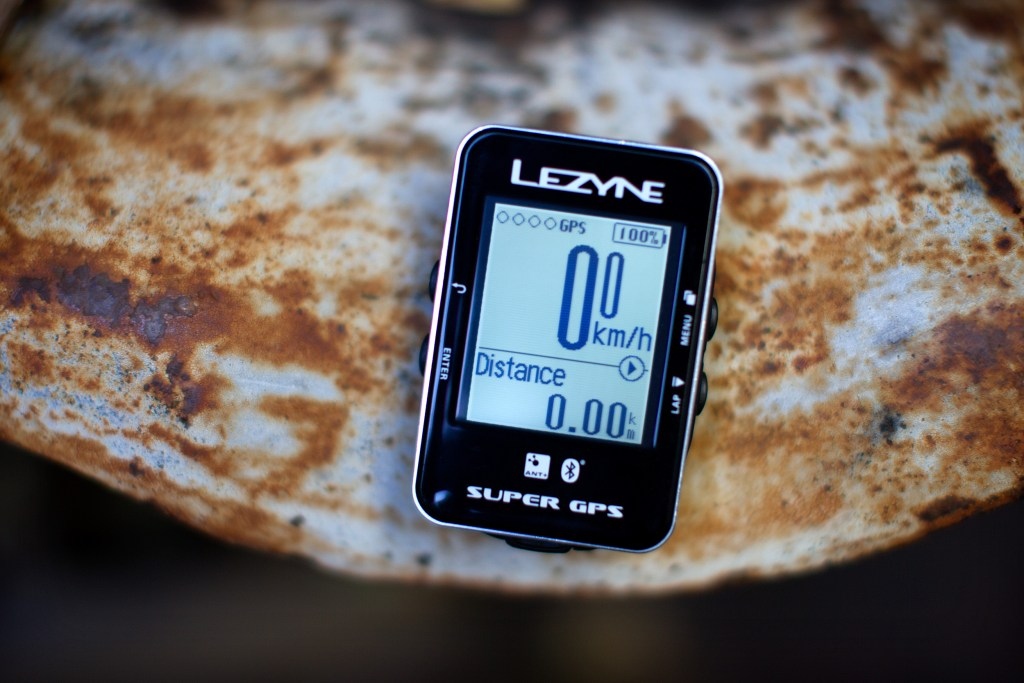 Lezyne GPS. Photo: Jim Merithew/Element.ly