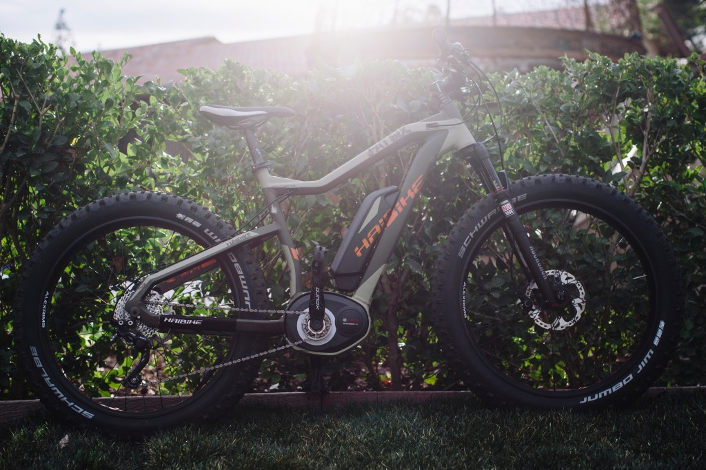 Love this Haibike FatSix RX. Photo: Stephen Lam/ Element.ly