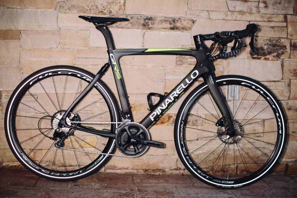 Pinarello GAN GRS gravel bike. Photo: Stephen Lam/element.ly