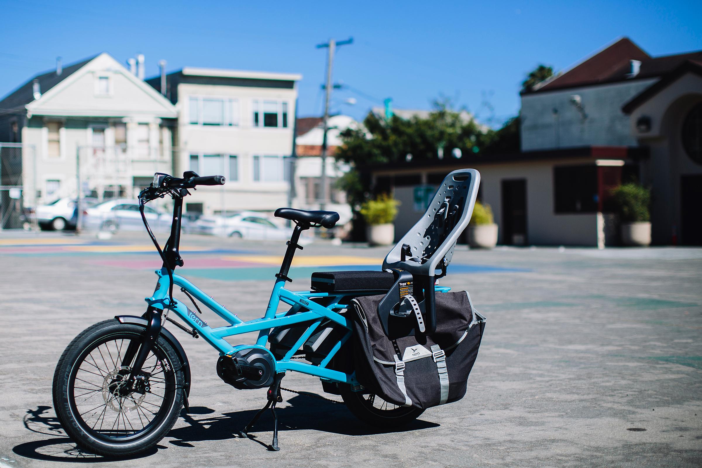 Tern GSD e-bike cargo review