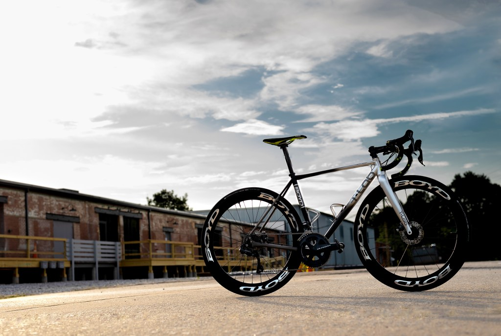 Boyd R3 T-Lab titanium bike