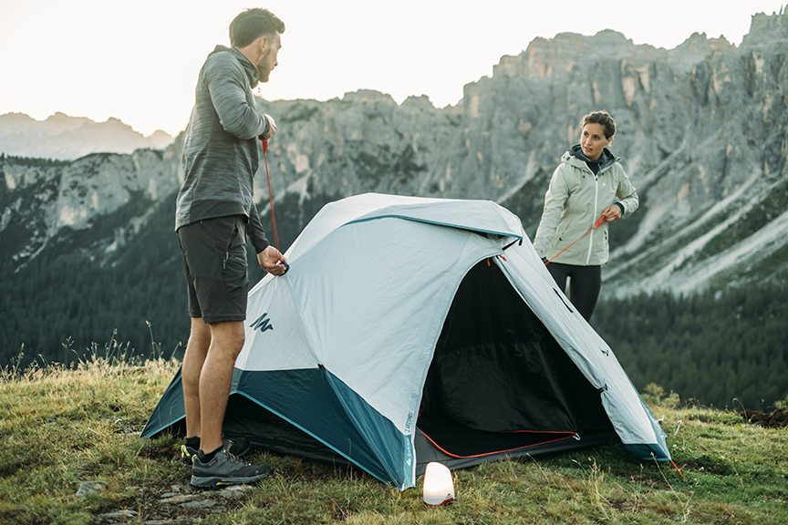 Decathlon Quechua 2 Seconds Easy 2 person tent