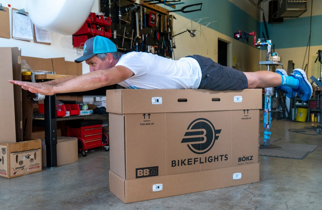 BikeFlights reusable bike box