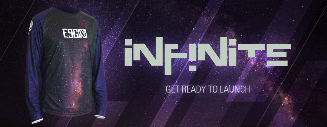 Infinite – New E9G Race Jerseys Are Here!