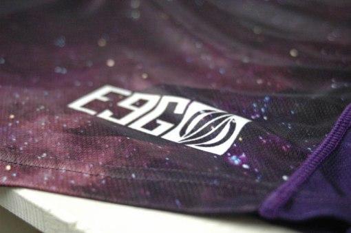E9G Infinite Race Jersey MTB DHMTB MX tail detail