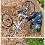 Tom Lamb, Highline Racing, Crash at Glencoe SDA 2010
