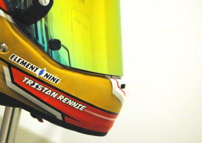 Tristan Rennie's Arai CK-6