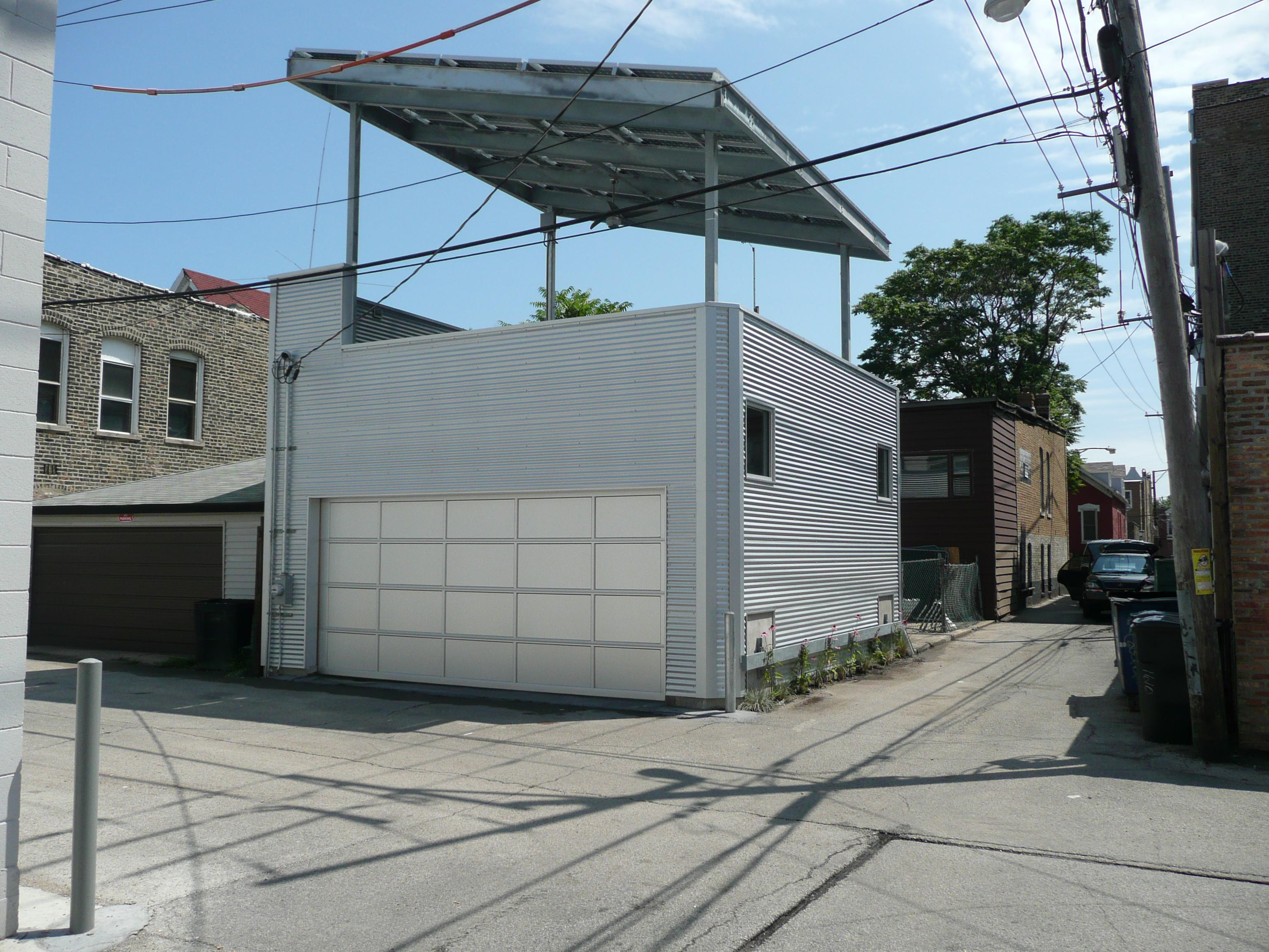 The Greenest Garage in Chicago