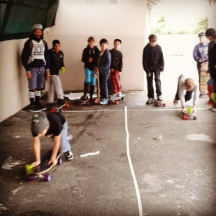 The week ended with skateboard olympics!