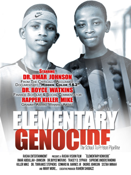 Elementary Genocide: The School-to-Prison Pipeline Film Poster
