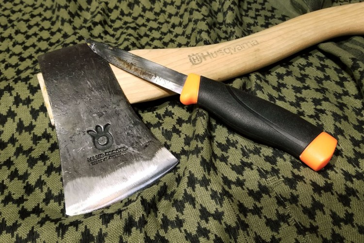 husqvarna hatchet and mora companion