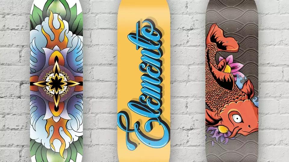 como transformei ilustrações autorais em shapes de skate diferenciados ótimos para decoração ou utilização direto na rua