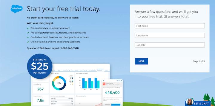salesforce-free-trial-form-spacing