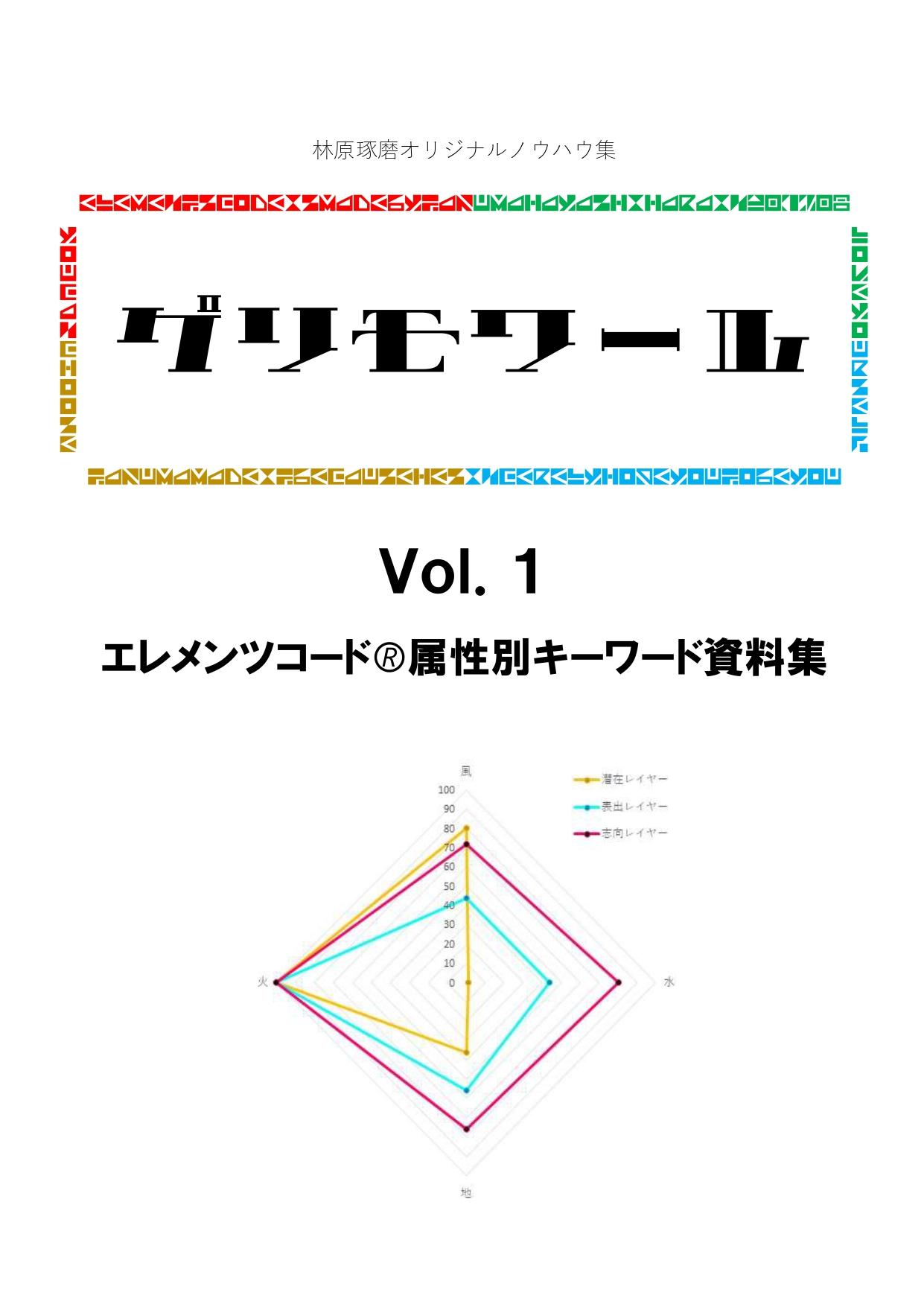 グリモワールVol.1表紙