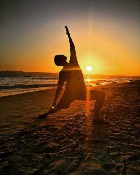 Drew- Sunset Yoga