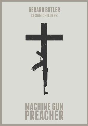 Machine Gun Preacher, Minimalist poster