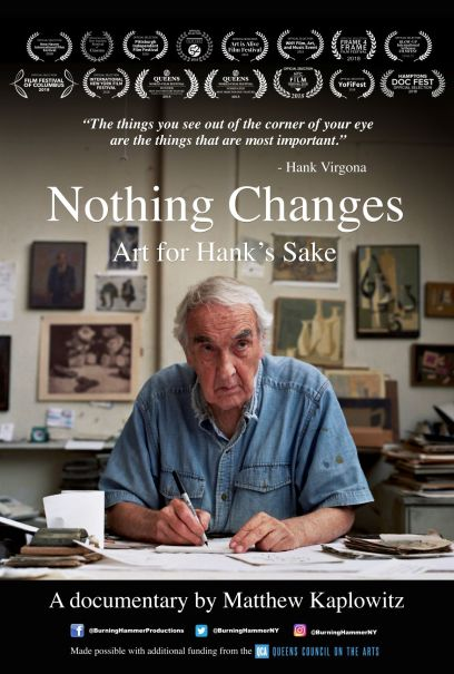 Nothing Changes 27x40 poster 111118