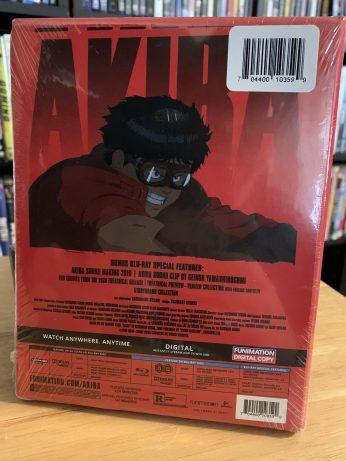 Back: Akira 4K UHD Limited Edition set.
