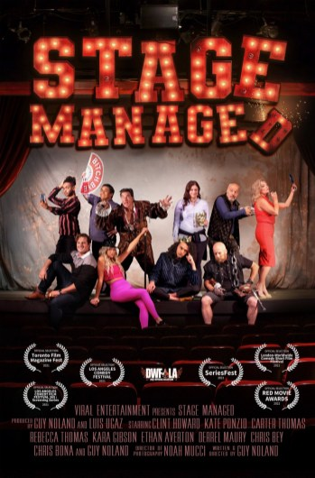 Staged Managed poster