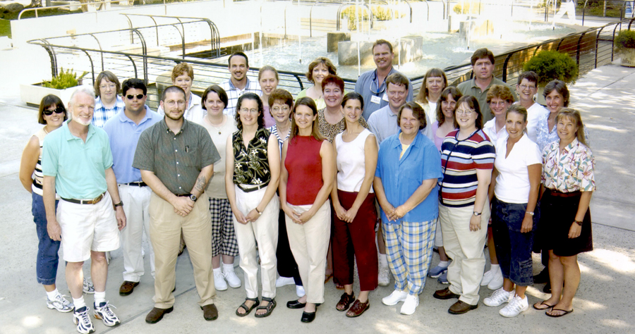 NASA Educator Workshop at JPL, 2002