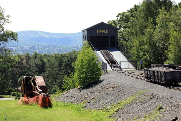Coal tipple at Lackawanna Coal Mine