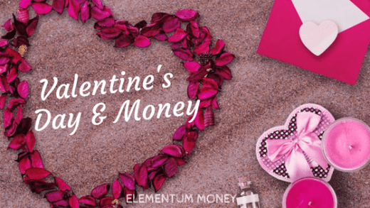 Valentine's day and money