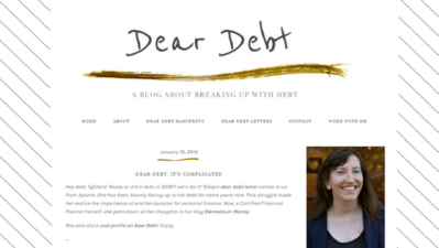 Dear Debt Blog