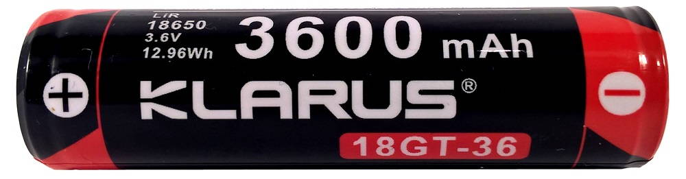 Klarus XT12GT 18GT-36 akku