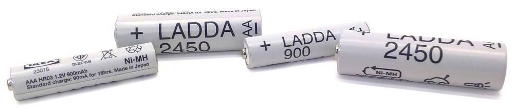 IKEA LADDA AAA és AA